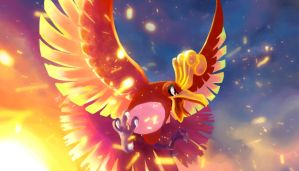 Ho-oh by dyelinnes