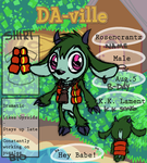DA-ville: Rosencrantz by aftertaster7