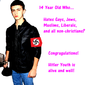 Hitler Youth is Alive and Well! by FabianMoonwillo