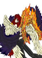 Wings Released - Colour by Avro-Chan
