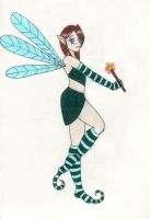 Dragonfly Fairy by LadyWinter