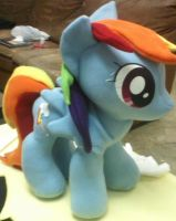 Rainbow Dash Plushie by ponydeath