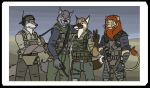 art-trade: Mercenaries by SteinWill