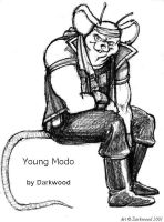 Young Modo by Darkwood by blackstorm
