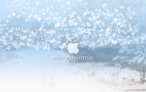 Merry Christmas Apple Mac by Maxpein