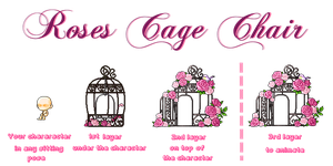 MapleStory Roses Cage Chair by Ashel-iia