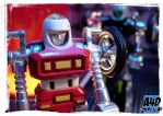 Gobots: Cy-Kill Twins by A4D-Studio