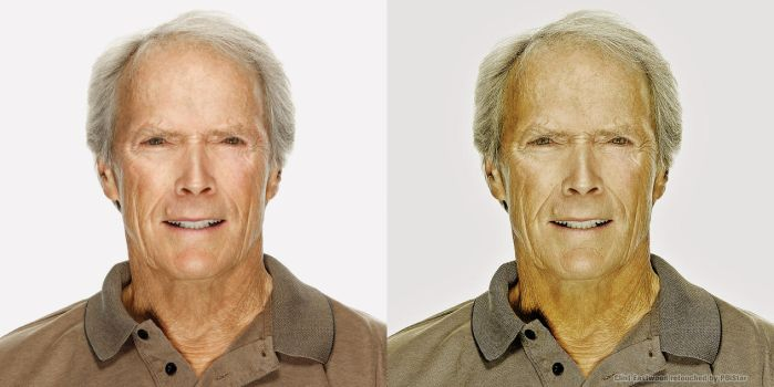 Clint Eastwood Photoshoped by POiStar