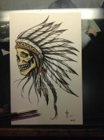 Indianskull by bishop808