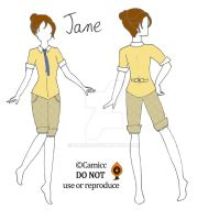 Jane clothing by Cami86