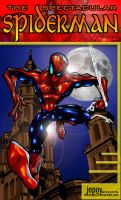 spectacular spiderman by WOLVERINE76