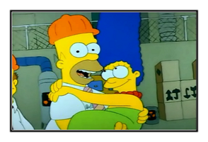 HomerxMarge Stamp by WG2020TV