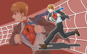 Peter Parker Change Wallpaper by nursury0