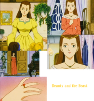 Beauty and the Beast's Dress 1 by MegaHERO108