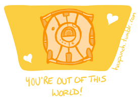 Space Core Valentine by HaxPunch