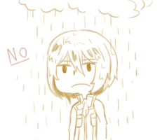 Rain = Not a happy Sun by Gradient-Of-Gold
