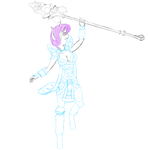 Rarity as Crystal Maiden [final sketch] by Xyotic