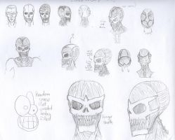 Fomor Latex Mask References by twitcher