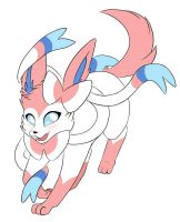 Sylveon by crispicroissant
