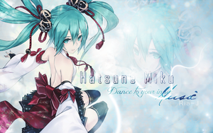 Miku Wallpaper by Ria-J
