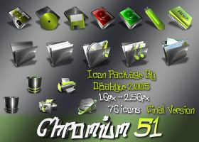 Chromium 51 by d8abyte