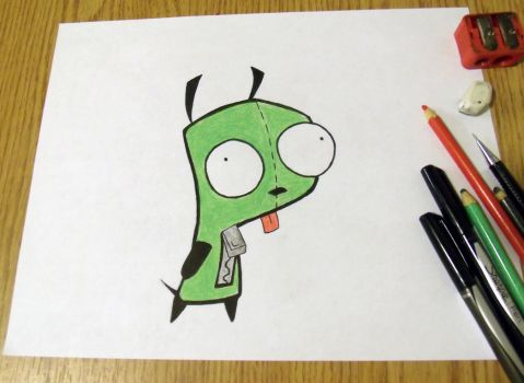 Gir from Invader Zim by Vapetoday