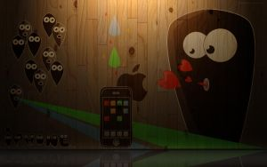 Iphone love by Topus