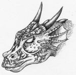 Tattooed Dragon by Rakiel