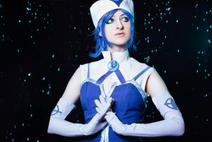 Fairy Tail - Juvia Loxar Cosplay I by Hanuro-Sakura
