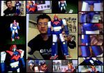 Voltes V Classic Japanese Robot papercraft by EdonTuazon