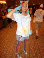 AFest '11 - Rainbow Dash by TEi-Has-Pants