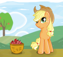 Applejack by ShadowHunterCIS