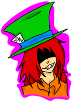 Smiling Hattress by spottycows