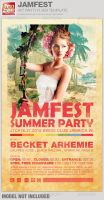 Jamfest Summer Party Flyer Template by loswl