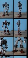 bionicle:toa quentic toa of famine (toa corpus) by CASETHEFACE