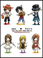 One Piece Chibbers Box by kittykatkanie