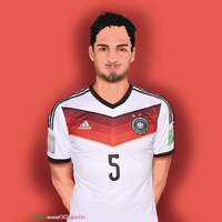 Mats Hummels ~ Germany by TheMuseumOfJeanette