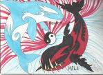 Heaven and Hell....Orcas. by AmericanBlackSerpent