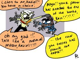 Legacy of Kain, doodles 57 by Ayej
