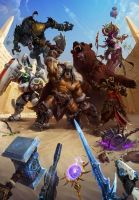Arena Battle - Heroes of the Storm by PlanK-69