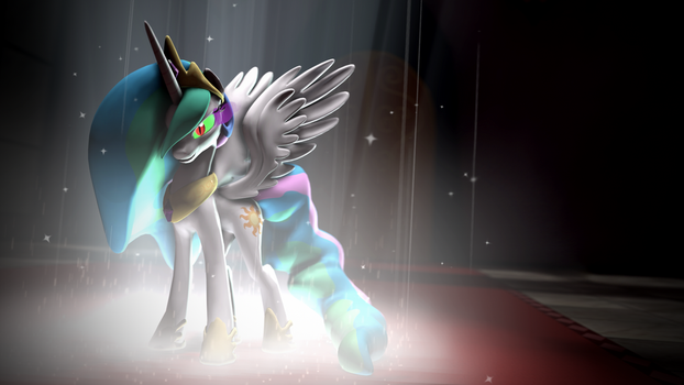 Dark Magic Celestia - Wallpaper [SFM] by argodaemon