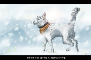 Spring +SPEEDPAINT by ElectricSilence