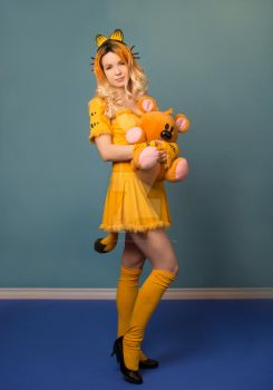 Garfield and Pooky Cosplay by cosplaykittykat
