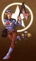 WW1 Heroines colors by Norman by AsGodNintendo