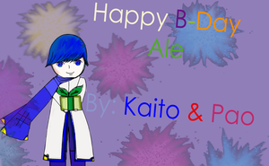 Kaito/ Gif to Ale :D by Paoloid