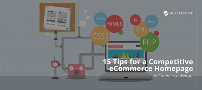 15 Tips for a Competitive eCommerce Homepage by iMedia11