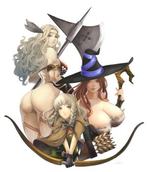 Dragon's Crown by stealthmaria