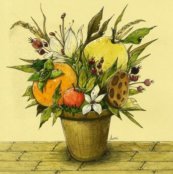 The pot of autumn / 2011.09 by doming92