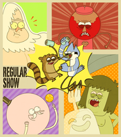 Regular Show by OysteIce