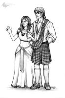 Lord and Lady Broch Tuarach by Sesroh